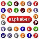 Alphabet anglais illustration de vecteur