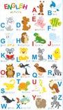 Alphabet anglais Photos stock