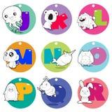 Alphabet Animals Stock Photos