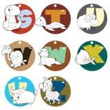 Alphabet Animals Royalty Free Stock Image