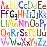 Alphabet-Aquarelle Stockfotografie