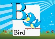 Alphabet-b Image libre de droits