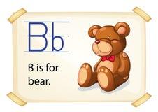 Alphabet B Stock Photo