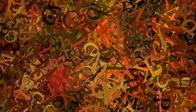 Alphabet Background Royalty Free Stock Photos