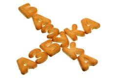 Alphabet and Bazooka Royalty Free Stock Images