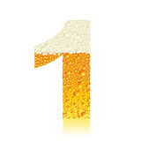 Alphabet beer 1 Royalty Free Stock Photos