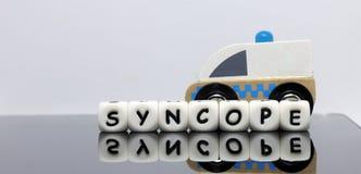 Alphabet bezeichnet Kreidevorstand mit Buchstaben stockfoto