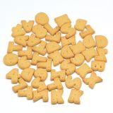 Alphabet biscuit Stock Images