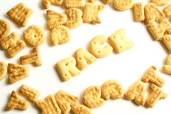 An alphabet biscuits Royalty Free Stock Photo