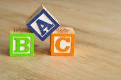 Alphabet blockiert ABC Stockbilder