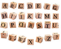 Alphabet Blocks #2 Royalty Free Stock Image