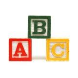 Alphabet Blocks Royalty Free Stock Image