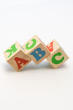 Alphabet Blocks ABC Royalty Free Stock Photography