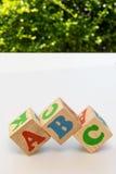 Alphabet Blocks ABC Stock Photos