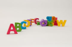 Alphabet blocks Stock Photography