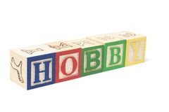 Alphabet Blocks - Hobby Stock Images