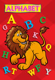 Alphabet book cover Stock Photo