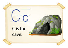 Alphabet C Stockfotos