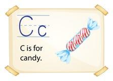 Alphabet C Stock Image