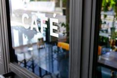 Alphabet cafe word Stock Photography