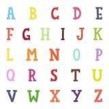 Alphabet cartoon vector illustration. Royalty Free Stock Photography