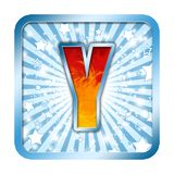 Alphabet Celebration letters Y Royalty Free Stock Photography
