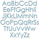 alphabet checkered illustration de vecteur
