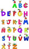 Alphabet Children Stock Photography