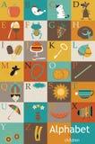 Alphabet for children. Vector illustration royalty free illustration