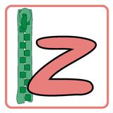 Alphabet for children. Education (z Stock Image