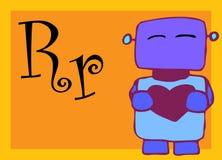 Alphabet for children. Education (R Royalty Free Stock Image