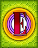 alphabet circular e Στοκ Εικόνα