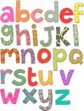 Alphabet Clip Art Royalty Free Stock Photography