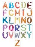 Alphabet,CMYK Stock Image