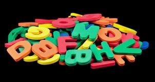 Alphabet coloré Image libre de droits