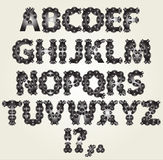 Alphabet décoratif Photo stock