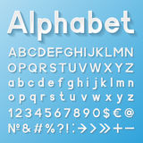 Alphabet décoratif Photo libre de droits