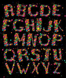 Alphabet d'amusement Photographie stock