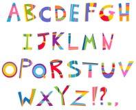 Alphabet d'amusement Photos libres de droits