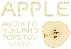 Alphabet d'Apple Photos libres de droits
