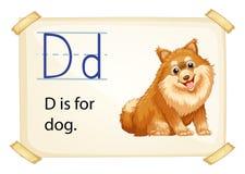 Alphabet D Stock Photos