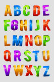 Alphabet 3d Text Stock Image
