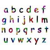 Alphabet de Colorfull Photographie stock libre de droits