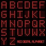 Alphabet de Digitals Image stock