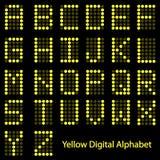 Alphabet de Digitals Photographie stock libre de droits