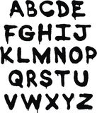 Alphabet de graffiti Photo stock
