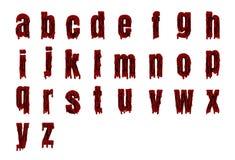 Alphabet de Halloween réglé du vecteur illustration de vecteur
