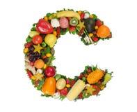 Alphabet de la santé - C Image libre de droits