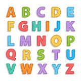 Alphabet de Needled Photographie stock