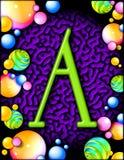 Alphabet de réception -   image libre de droits